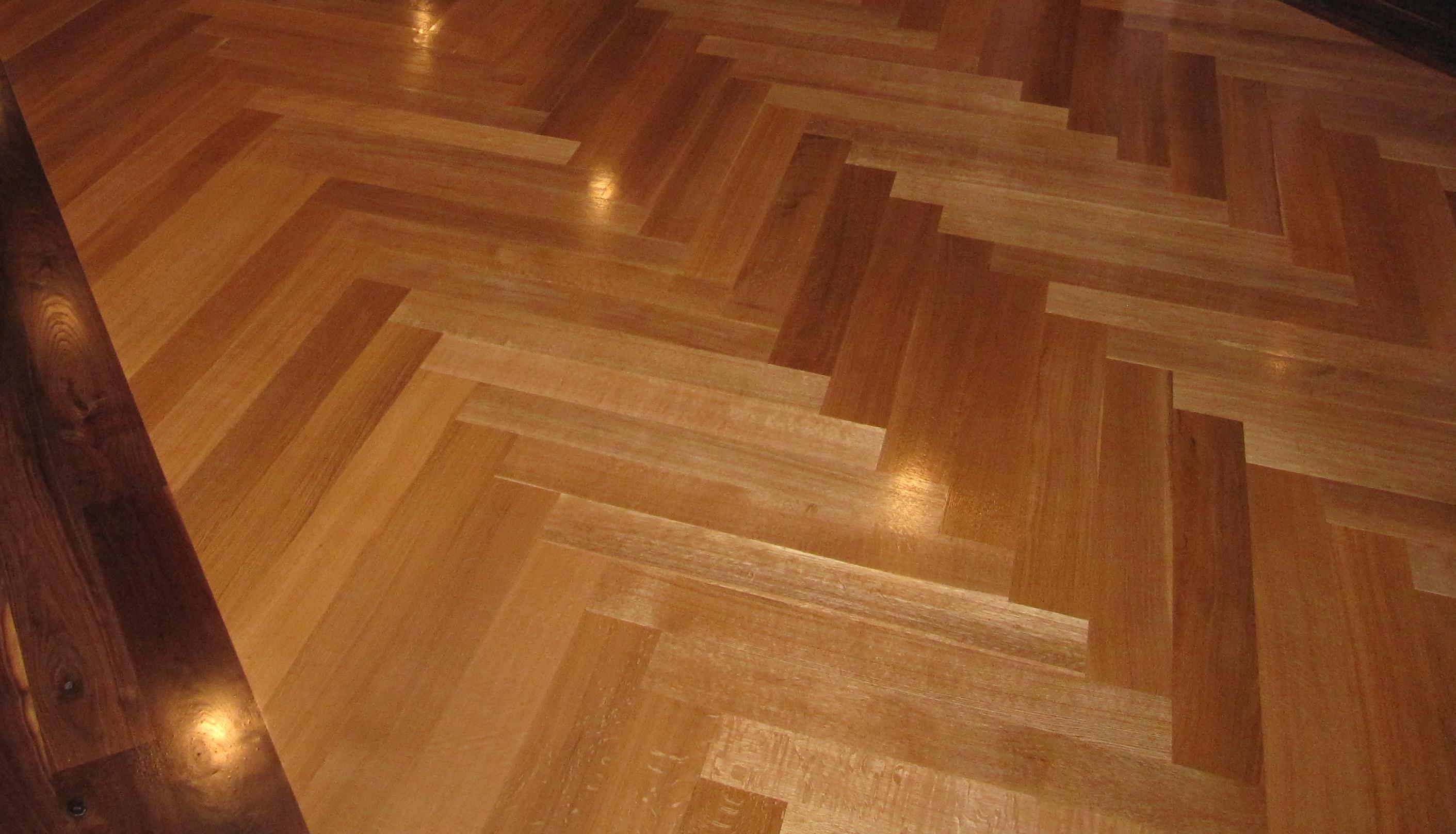 Floor of the week woodflooringtrends for Floating hardwood floor