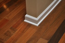 Design Faut Pas Matching Wall Trim To Wood Flooring