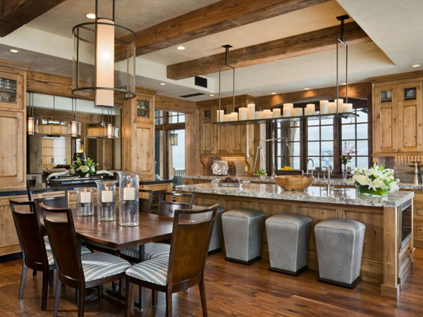 Image Of Modern Rustic Kitchen Designs Wonderful Rustic Modern