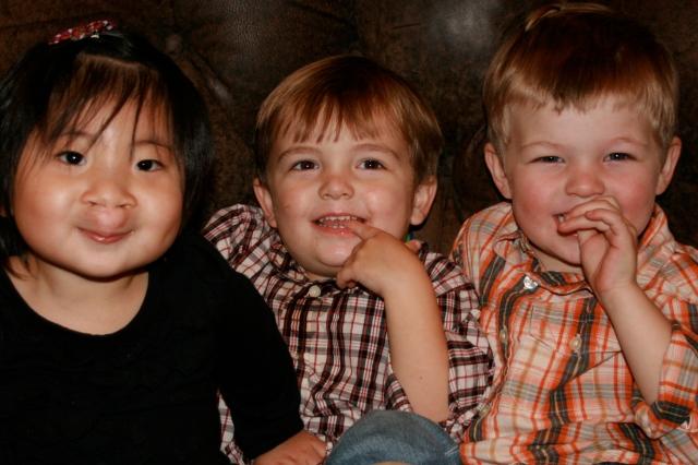 Kids and wood floors