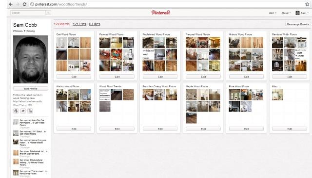 Wood Floors on Pinterest