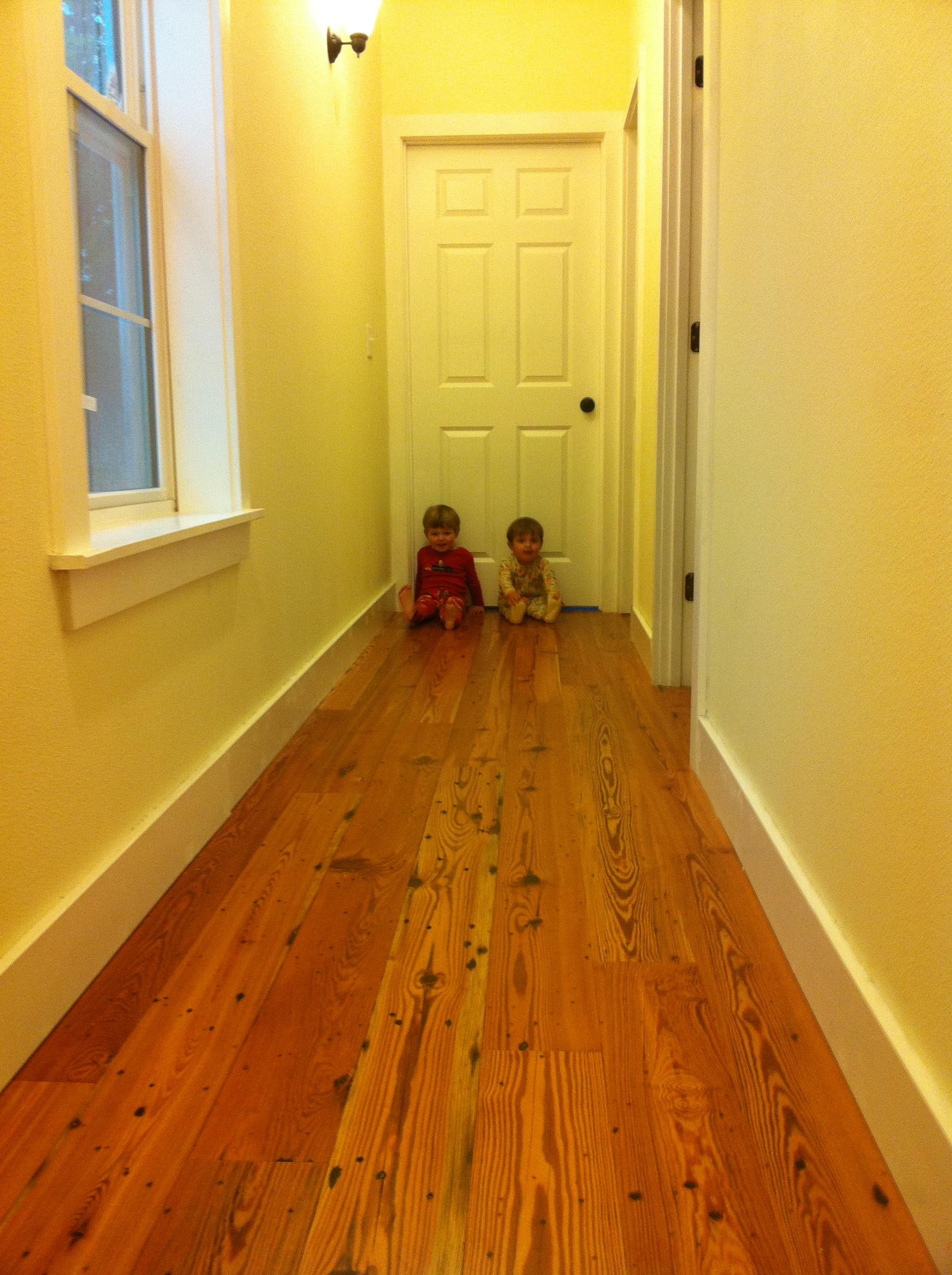 Why Boys Should Grow Up On Hardwood Floors