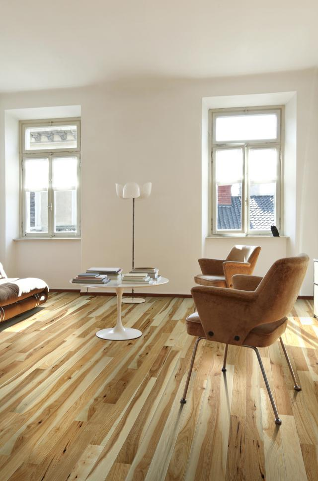 Natural Hickory Wood Flooring