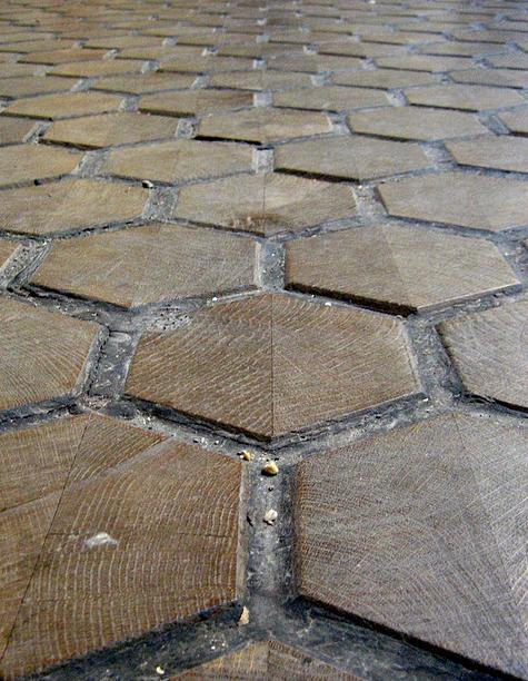 Wood Flooring Outside