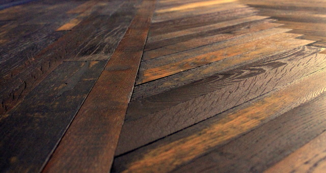 European white oak wood floor
