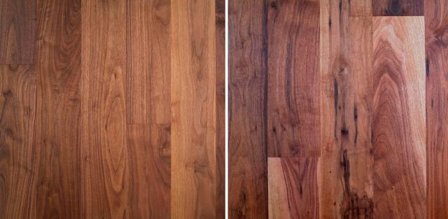 Engineered Walnut wood flooring